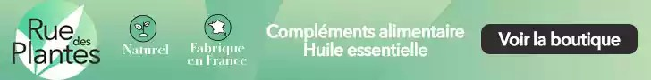 Compléments alimentaires Ruedesplantes